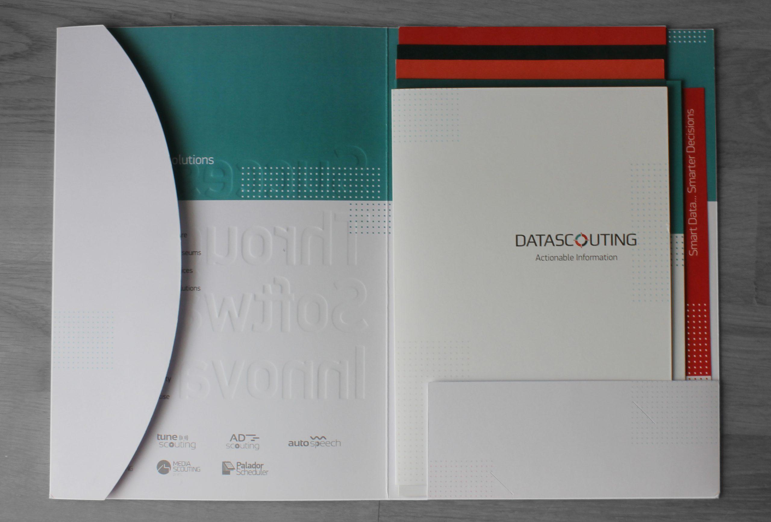 brochures and folder