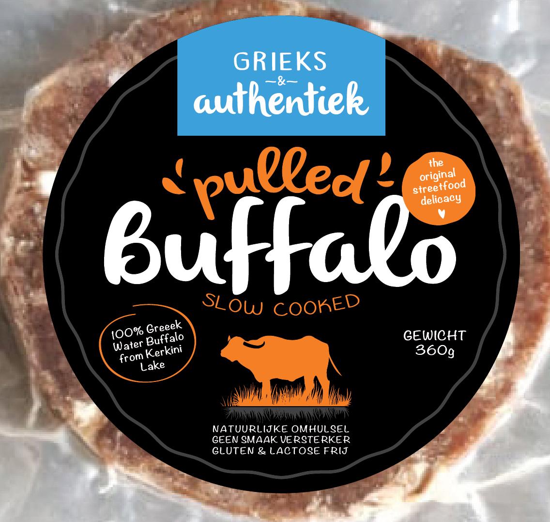 Grieks & Authentiek Pulled buffalo package