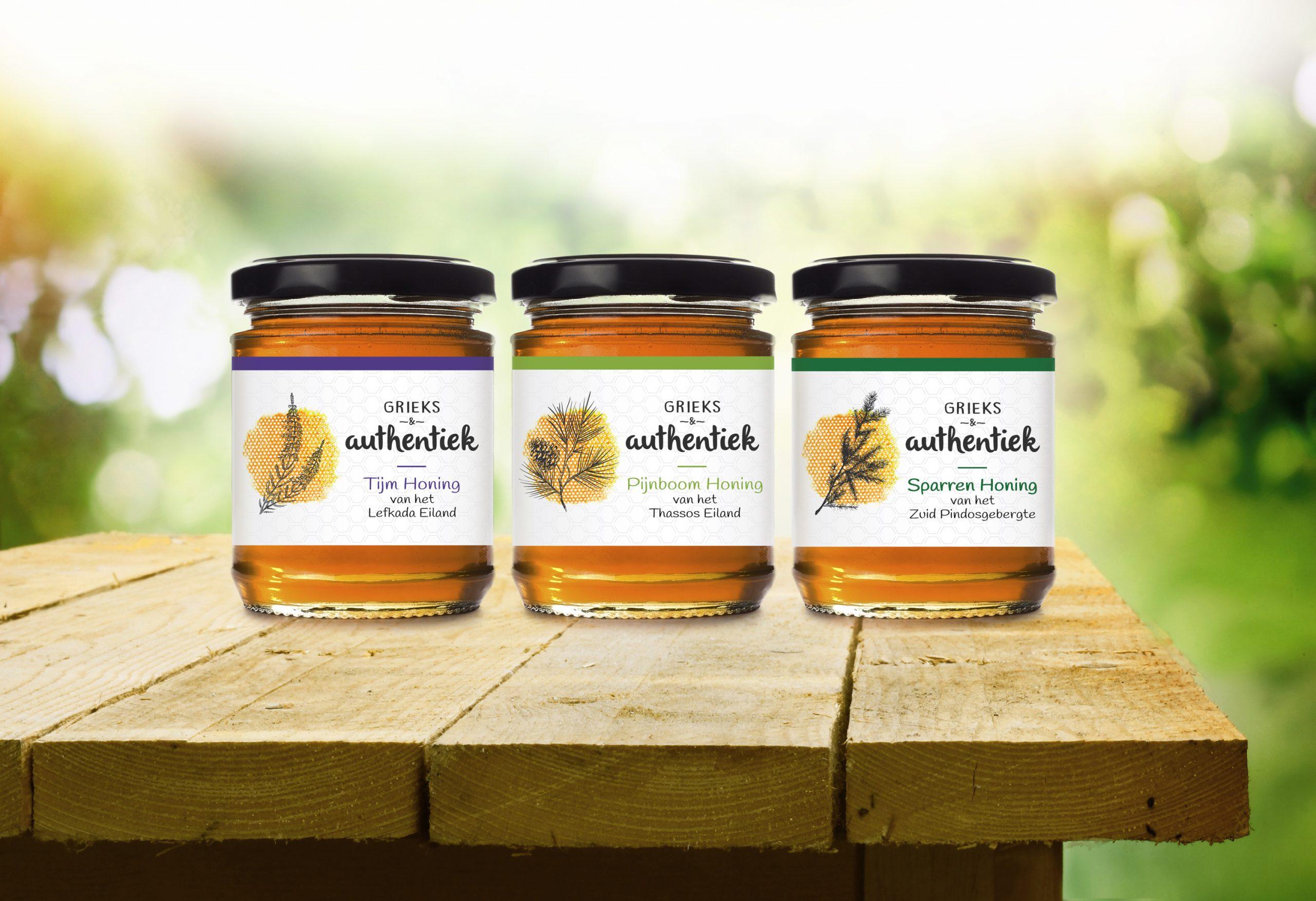 Honey packaging photo